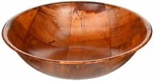Winco Wwb 10 Wooden Woven Salad Bowl 10 Inch