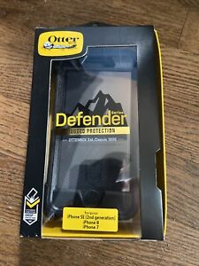 OtterBox Defender Black Case For iPhone 8/7 And SE (2nd Generation) 065