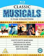SUD PACIFIQUE/WEST SIDE STORY / Fiddler on the toit / CHITTY CHITTY BANG BANG