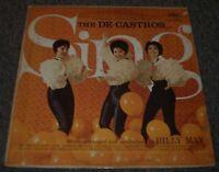 The De Castros Sing Billy May~1960 Latin Pop~Original Inner Sleeve~FAST SHIPPING