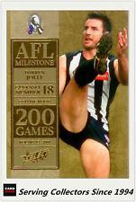 2012 Select AFL Champions Milestone Card MG13 Darren Jolly (Collingwood)