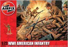 Airfix 1501729 WW1 US Amerikanische Infanterie 1:72 Modellfiguren Figuren Modell