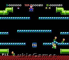 Original Mario Bros Arcade - NES Nintendo Rare Brothers
