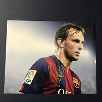 IVAN RAKITIC SIGNED 8x10 PHOTO AUTOGRAPHED AUTHENTIC FC BARCELONA MESSI RARE COA
