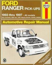 Ford Ranger & Mazda Pick-Ups Automotive Repair Manual: 1993 Thru 1997 (Hayne's A