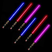 6Pcs/set Star Wars Lightsaber Sword with Lights & Sounds Skywalker Cosplay
