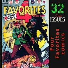 Four Favorites comics | Golden age superhero, crime & variety | 32 issues-RARE