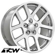 """(4) 22 inch 22x9"""" Dodge Viper Style OE Replica Chrome Wheels Rims 5x115 +18"""