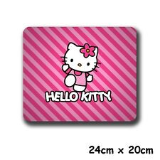 """9"""" Cute Anime HelloKitty Kitty Cat Mouse Pad Gaming Mouse Mat PC Mice Pad"""