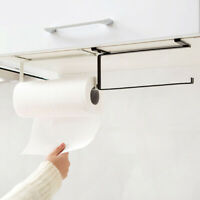 Kitchen Under Cabinet Paper Towel Hanger Rack Organizer Storage Shelf Holder USA