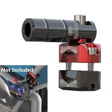 1x ATV Motorrad CNC Gabel Lenker Halterung für LED Scheinwerfer Handy GPS Halter