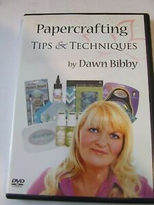DAWN BIBBY PAPERCRAFTING TIPS & TECHNIQUES DVD VGC