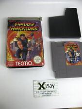 Nintendo Nes Shadow Warriors(Ninja Gaiden)Pal B españa juego y caja Buen estado