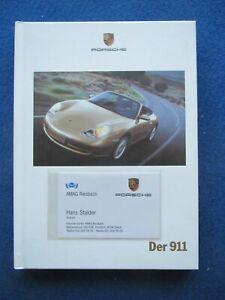 Porsche  911 : Hardback Sales Brochure  # 09/1999   113 pages - GERMAN TEXT