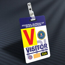 Bones - FBI Visitor Prop ID Badge