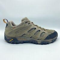 Merrell Moab Ventilator Hiking Trail Shoe Brown Leather Low Top J86595 Men's 13