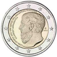 Griechenland 2 Euro 2013 Platon Akademie Gedenkmünze bankfrisch