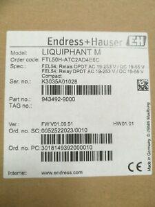 Endress + Hauser Liquiphant M FTL50H-ATC2AD4E6C