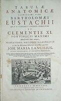 Bartolomeo Eustachi - TABULAE ANATOMICAE -  Typis Bartholomaei Locatelli, 1769