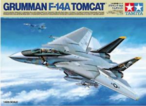 Grumman F-14 A Tomcat - 1:48 Aircraft Series Model Kit 61114 by Tamiya