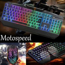Motospeed S69 Professional Gaming Keyboard and Mouse Set with Backlight T-STORE