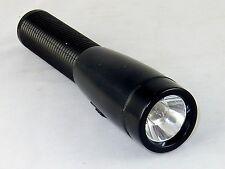 "Utility Flashlight, Black, Incandescent Bulb, Uses 2 ""AA"" Batteries, #DP-941"