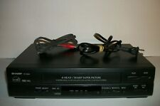 SHARP VC-A560U VCR VHS Player/Recorder TESTED WORKING - no remote