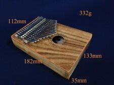 Eard KT-17 Acacia Wooden Kalimba MBIRA Thumb Piano,17 Keys,3 Sound Holes