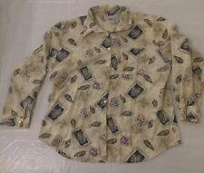 Cabin Creek Woman's XL Button Front Shirt
