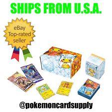 Pokemon Card Game Sun & Moon Alola Vulpix Pikachu Poncho Cosplay SEALED BOX SET!