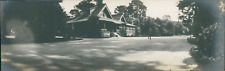 USA, Del Monte Club House (Monterey, California) Vintage silver print. Panoramic