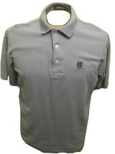 Polo Ralph Lauren Mens Large Short Sleeve Polo Golf Monterey Club Logo Baby Blue