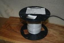 M81822/3-B22-9  MIL SPEC WIRE SILVER PLATED 22 AWG SOLID WIRE  PVDF 1000 FT NEW