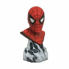 FREE SHIPPING Legends in 3D Marvel Comics Spider-Man 1:2 Scale Resin Bust
