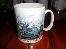 Norfolk China Ceramic Mug LAND ROVER SERIES 2 SHORT WHEELBASE