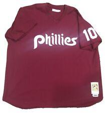 Authentic MITCHELL & NESS MLB PHILADELPHIA PHILLIES JERSEY Bowa Throwback 4XL