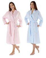 Ladies Summer Lightweight Polycotton dressing gown Size  10 to 24 bath robe wrap
