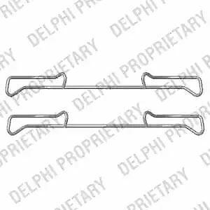 Delphi LX0436 BRAKE PAD FITTING KIT