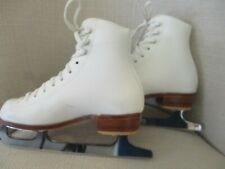 Hardly Used Riedell Size 1 Med. John Wilson Excel Blades