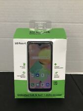 New Cricket Wireless LG Risio 4 16GB Black Cell Phone