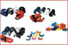 Kids Adult Karate Sparring Gear Set Head Foot Hand Pads Mouth + Case 7 pc NEW