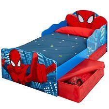 Spiderman Lettino con Contenitore & Auto-Fade Si Accendono gli Occhi per Bambini