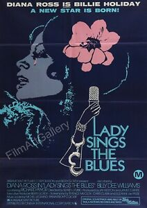 """Reproduction Motown """"Diana Ross, Lady Sings The Blues"""" Poster"""