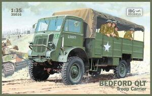 IBG Models #35016 1/35 Bedford QLT Troop Carrier