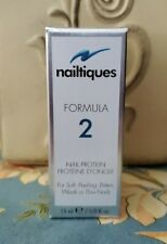 Nailtiques Formula 2 Nail Protein 15ml (1/2 ounce). Large Size. Fast Shipping!