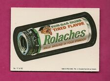 RARE OPC 1989 WACKY PACKAGES ROLACHES  EX-MT CARD (INV#6422)