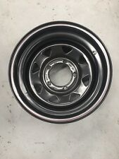 A17 15x8 5x139.7 Black Steel Wheels Rims 4x4 Offset -23 King Set Of 5