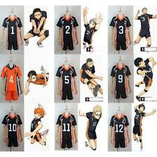 Haikyuu! Karasuno High School Uniform Jersey Volleyball New Cosplay Costume *