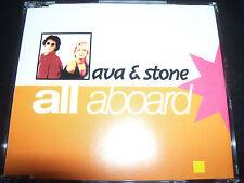 Ava & Stone All Aboard Australian Remixes CD Single