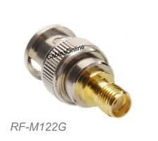 SMA Female to BNC Male 50Ω impedence Coaxial RF Adapter, CablesOnline RF-M122G